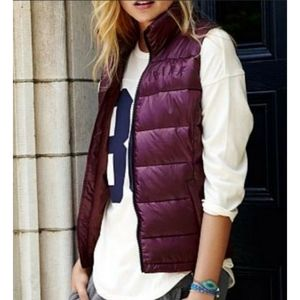 PINK Victorias Secret Puffer Vest